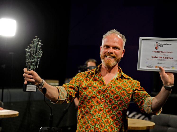 Erwin Kwakman wint Pers- én Publieksprijs Hengeloos Peil