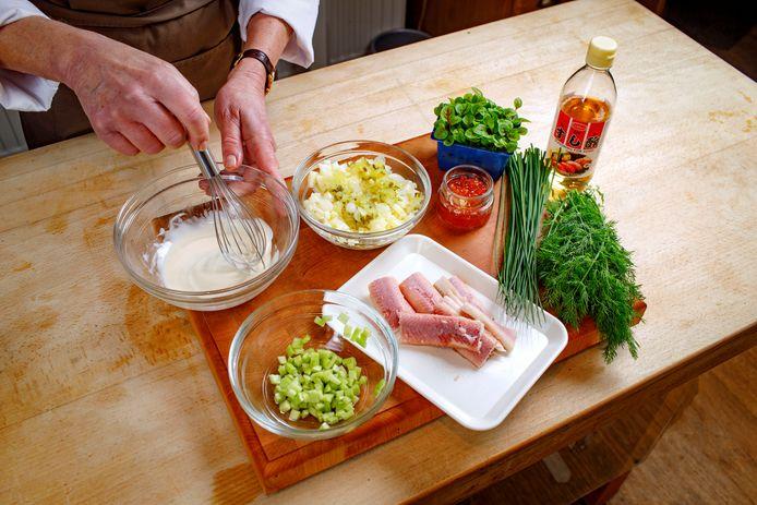 Onze culinair recensent Carla Kentgens is alvast begonnen met de voorbereidingen.