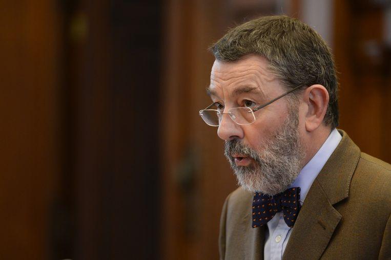 Luc Hennart, de voorzitter van de Franstalige Brusselse rechtbank.