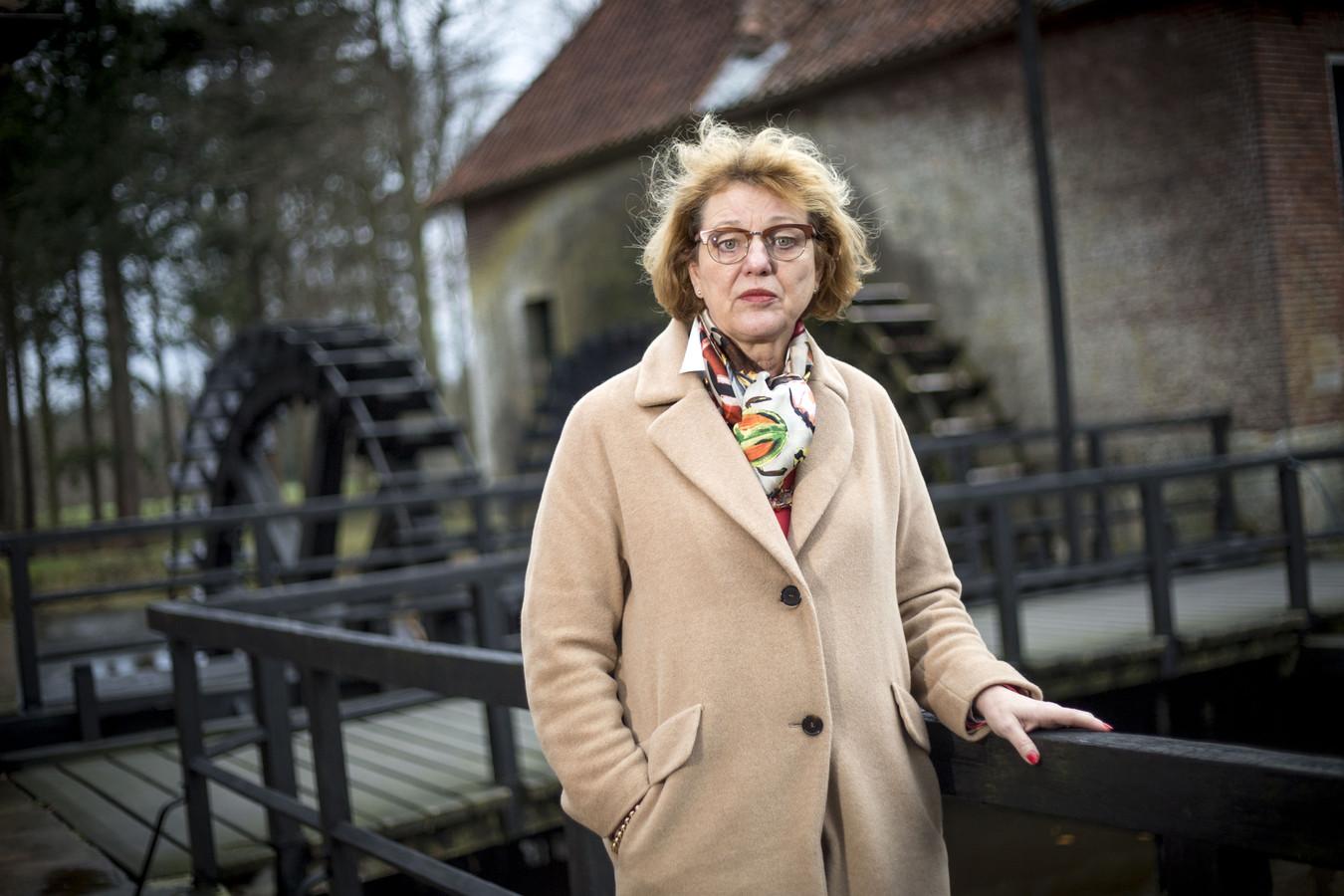 Waarnemend burgemeester Ineke Bakker, hier op archiefbeeld, noemt de gezonken vissersboot een drama voor Urk