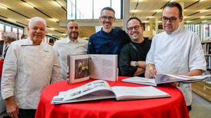 Vijf chefs bundelen recepten met typisch Dendermondse insteek in kookboek 'Denderende Chefs'