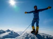 Valkenswaardse internet-ondernemer Jur Rademakers bereikt top Mount Everest