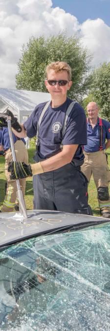 Xavier uit Gent is brandweervrijwilliger in Wolphaartsdijk: 'Het is een passie voor mij'