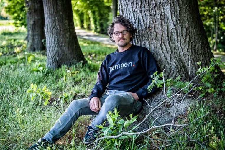 Historicus Koen Aerts Beeld Tim Dirven