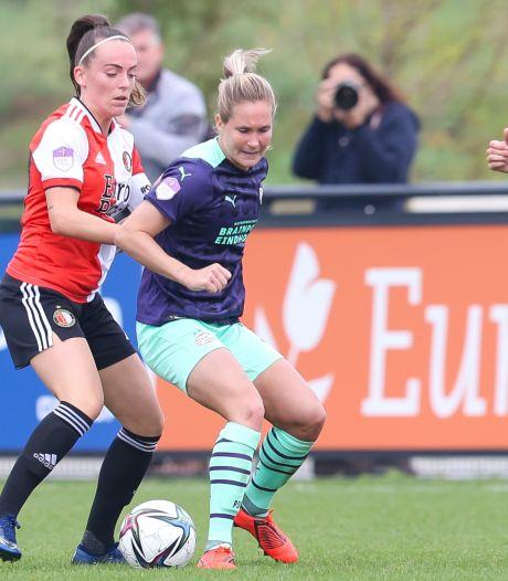 Wisselvallig PSV Vrouwen verliest eerste confrontatie met Feyenoord
