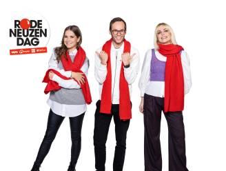 Julie Van den Steen, Vincent Fierens en Laura Tesoro doorkruisen heel Vlaanderen met 'Rode Neuzen Dag On Tour'