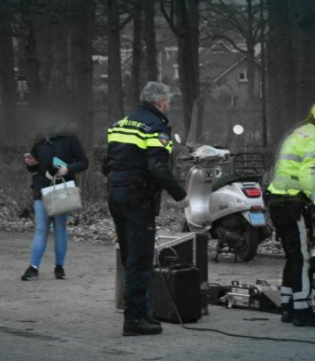 Scooterrijder in Wijchen mee naar bureau: gestolen tweewieler