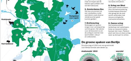 Groene 'scheggen' in gevaar door bouwwoede