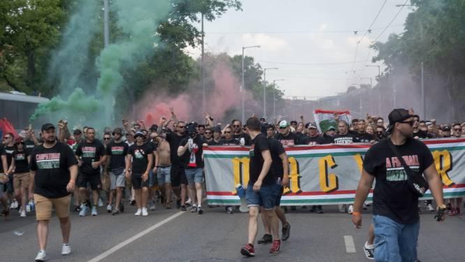 """""""Ga niet in op Duitse provocatie, blijf gedisciplineerd"""": staan 'regenboogsupporters' straks voor 'Brigade van de Karpaten' in München?"""