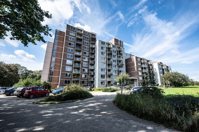 Appartementencomplex Heidepark aan de Heideparkseweg in Nijmegen.