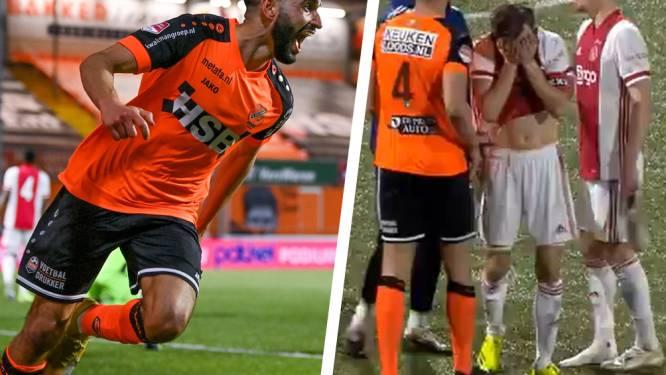 Krankzinnig slot, kapitein zelfs in tranen: Jong Ajax leidt in minuut 95 met 1-2, maar verliest alsnog