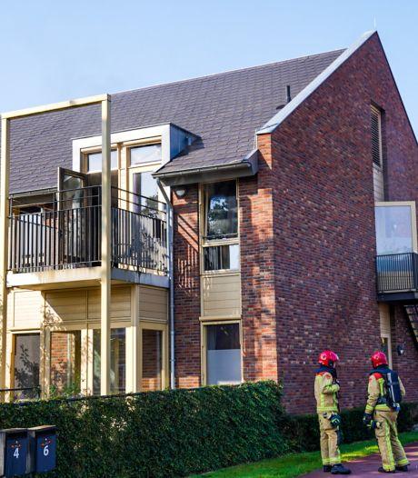 Brand in Kempenhaeghe in Sterksel, bewoonster naar het ziekenhuis