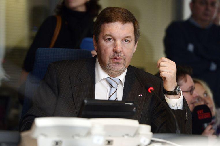 Jaak Raes, chef Staatsveiligheid.  Beeld belga