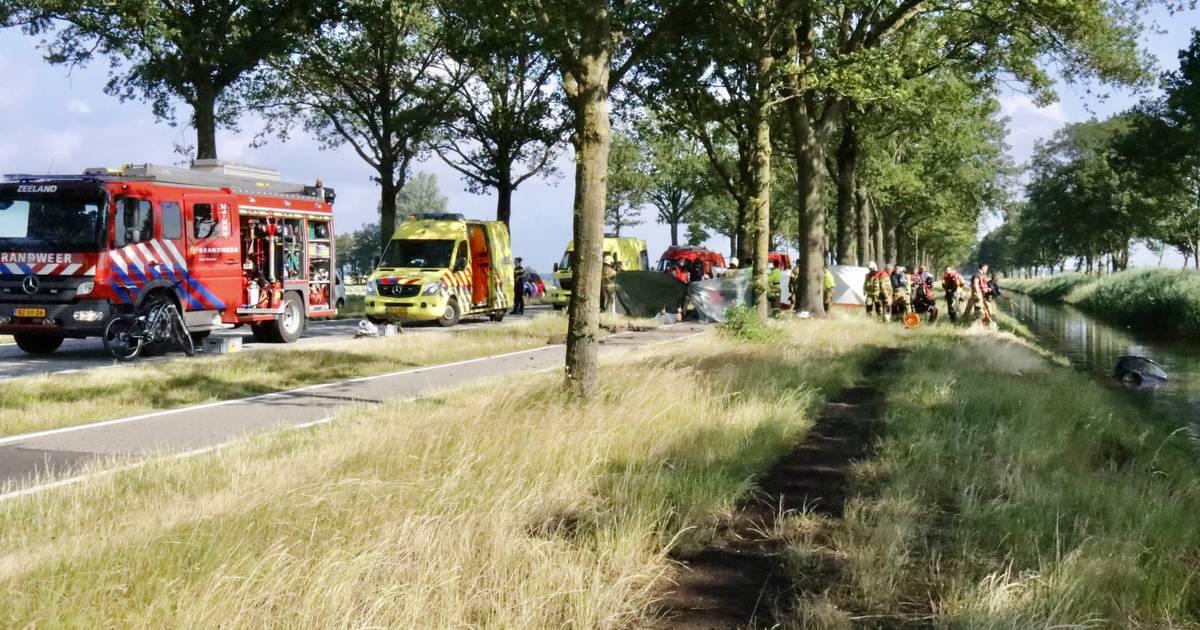 Automobilist overleden bij ongeluk op N277 bij Wilbertoord.