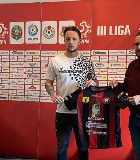 'Beetje bluf' brengt voetballer Youri Roseboom via Arnhem naar vierde profniveau in Polen