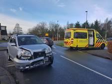 Gewonde bij zware botsing in Oisterwijk