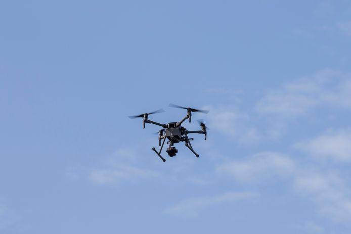 Drones zijn uitermate geschikt voor controles.