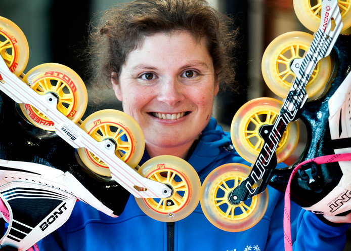 Marit Kaats gaat naar de Special Olympics in Abu Dhabi.