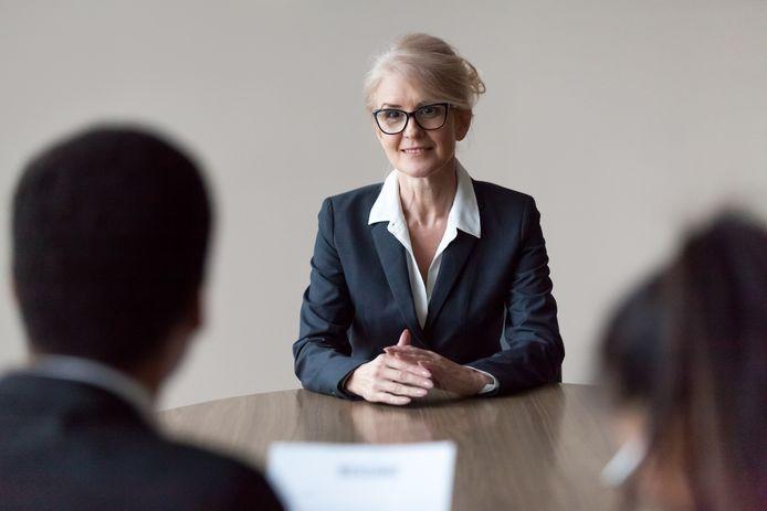 Foto ter illustratie. Ruim een derde van de werkenden denkt tijdens een sollicitatie weleens beoordeeld te zijn op niet-werkgerelateerde zaken, zoals leeftijd, geslacht of afkomst.