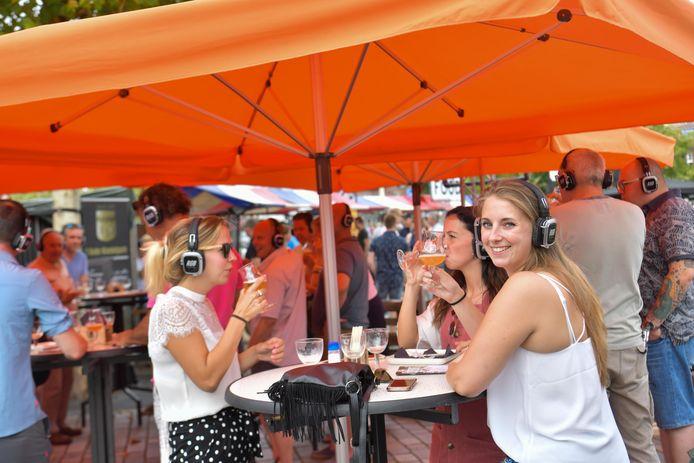 Het Gerstenat Bierfestival in Valkenswaard vorig jaar. Zondag is het weer zover.