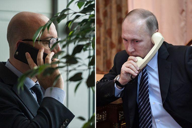 Charles Michel en Poetin pleegden telefonisch overleg over de toestand in Libië.