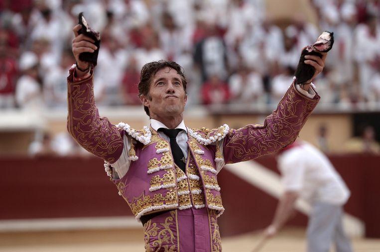 Spaanse torero Manuel Escribano Beeld AFP