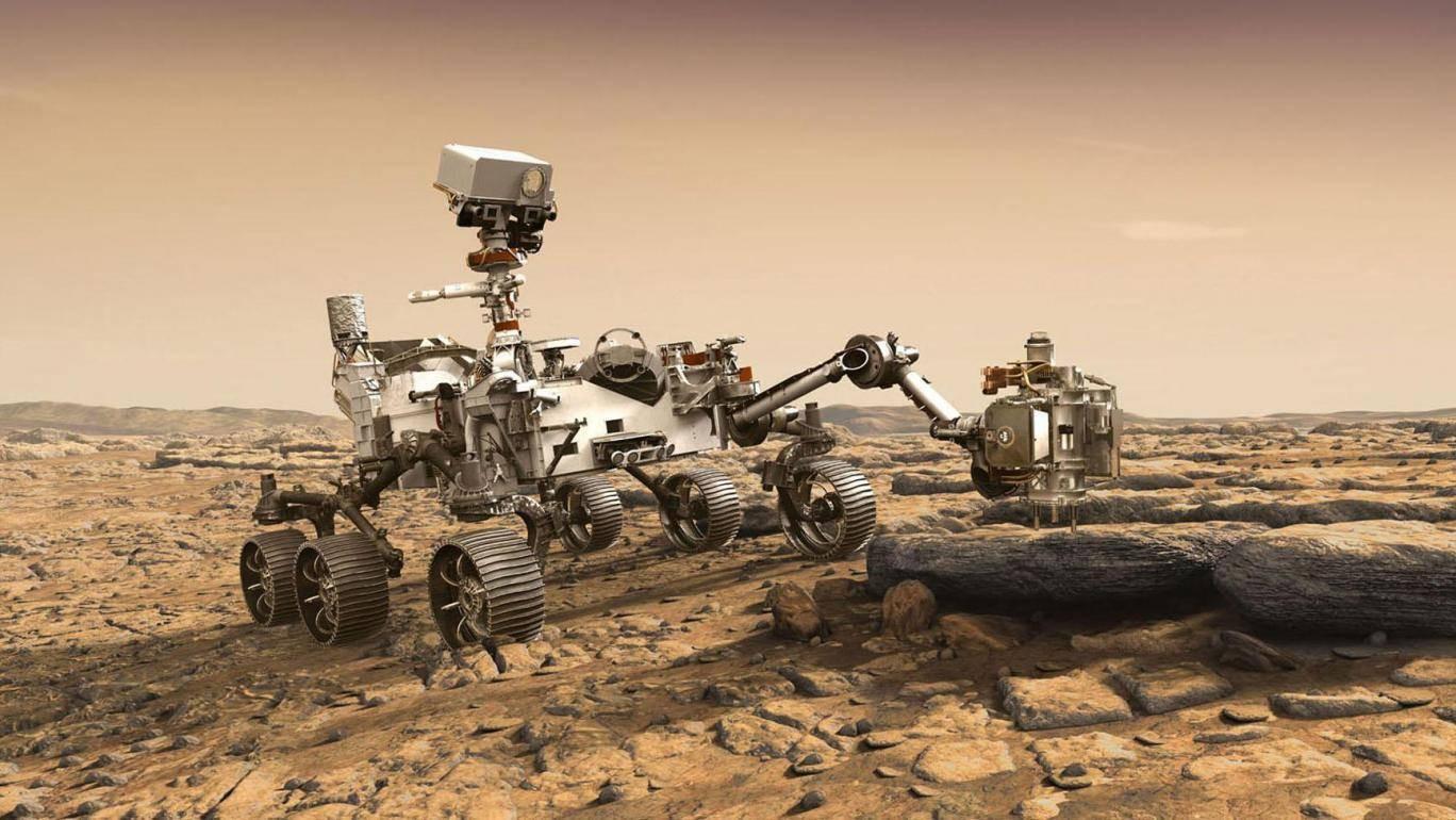 De nieuwe Mars 2020 verkenner zal onder meer speuren naar microben die op leven wijzen.