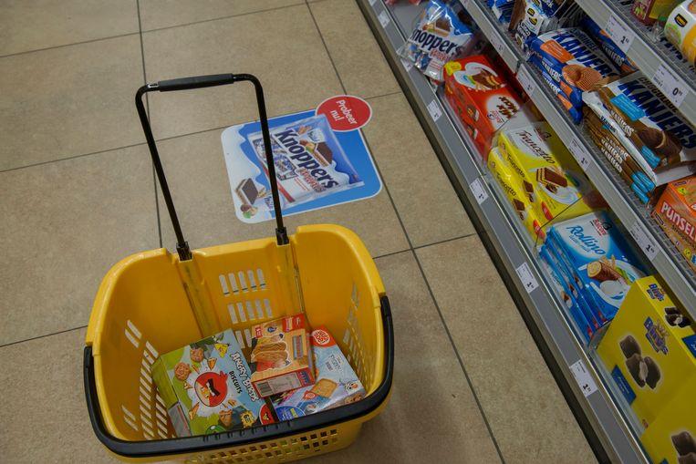 Snoepgoed in de supermarkt. Beeld Hollandse Hoogte / Sabine Joosten