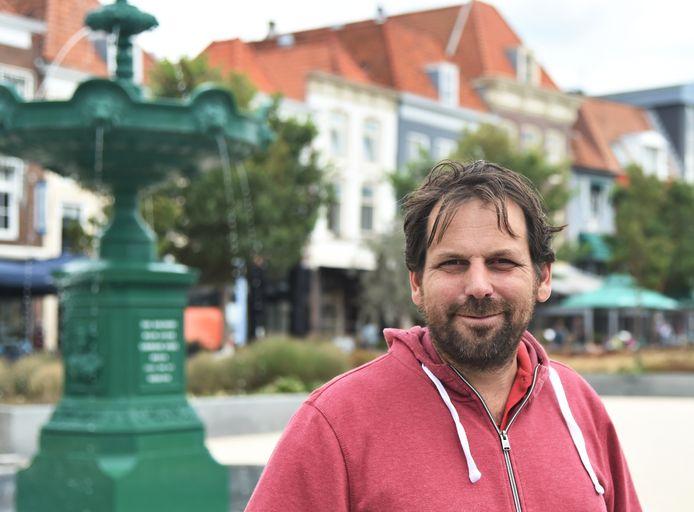 """Pieter Ventevogel: ,,Van de Cultuurwerf is weinig meer over. Nu het met de gemeente wat beter gaat, lijkt het me een mooi moment om weer te gaan bouwen."""""""