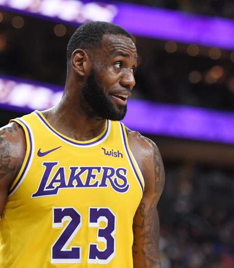 Alle ogen op 'King James' bij tip-off NBA-seizoen