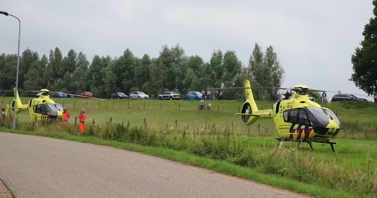 Meisje zwaargewond bij ernstig ongeval bij fruitbedrijf in Beusichem: twee traumahelis geland.