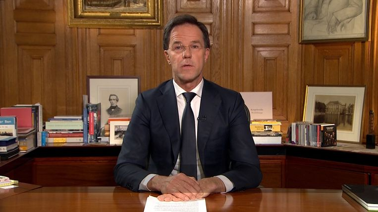 Nederlands premier Mark Rutte