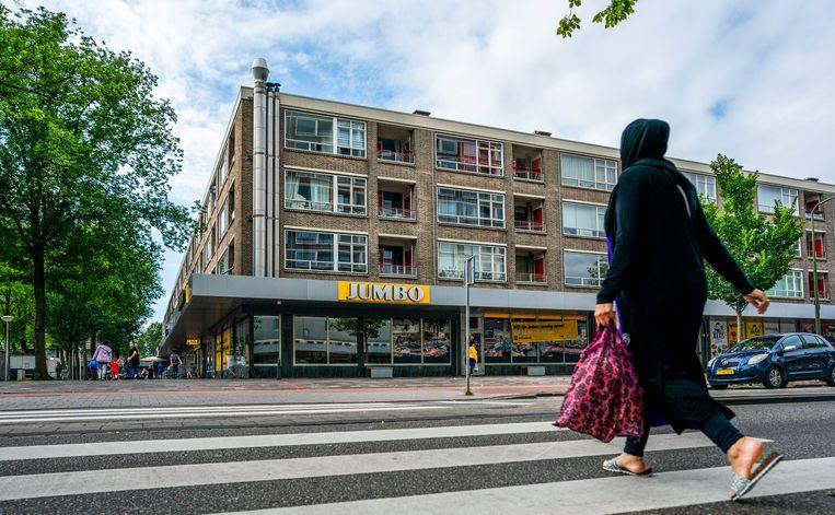 In de tien grote steden is gemiddeld 64 procent van alle huurwoningen eigendom van een socialewoningbouwvereniging, maar Den Haag is een uitzondering met 45 procent. Beeld null