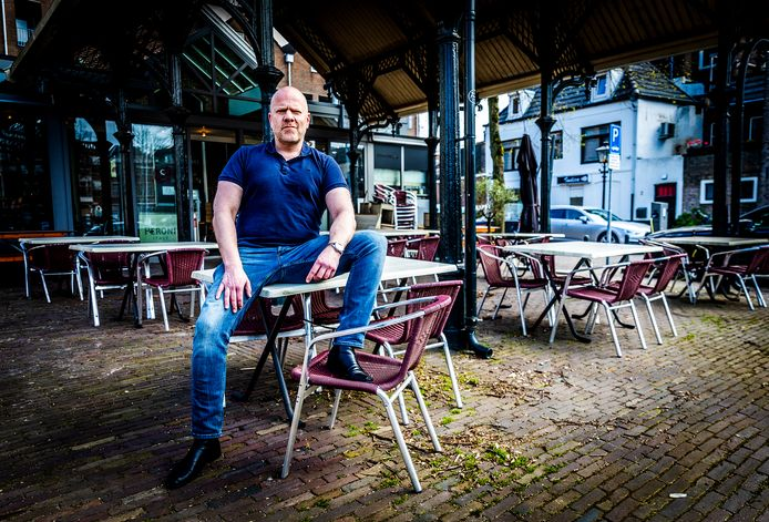 Dick Lap van pizzeria Otto e Mezzo in Dordrecht.