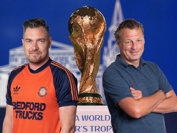 Sjoerd Mossou (links) en Mikos Gouka.