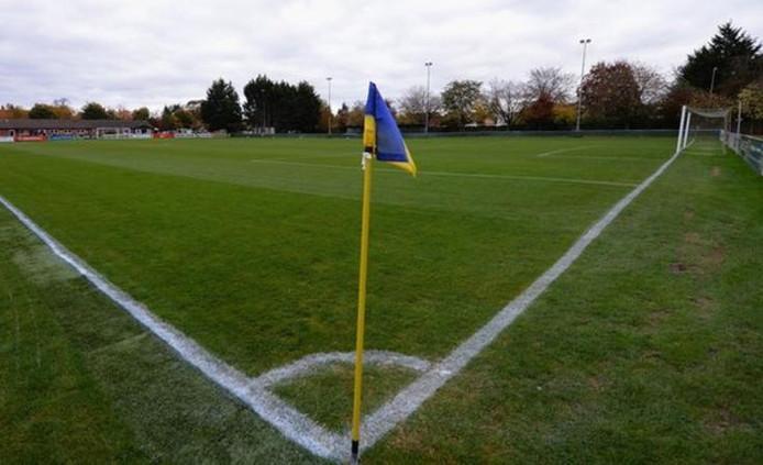 Het veld van Abingdon United.