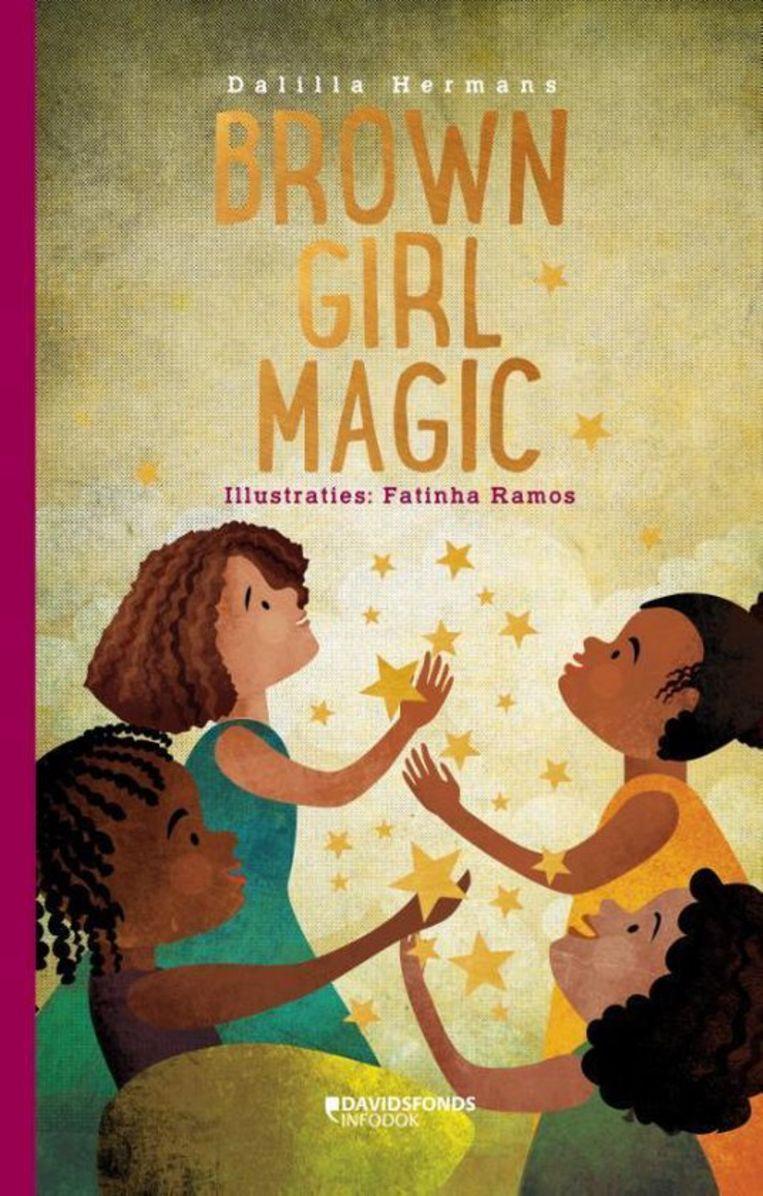 Dalilla Hermans, Brown Girl Magic (4+, tweetalig) Davidsfonds/Infodok; 32 blz. €15,99 Beeld