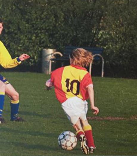 Prachtige jeugdfoto Oranje-sensatie Jackie Groenen opgedoken