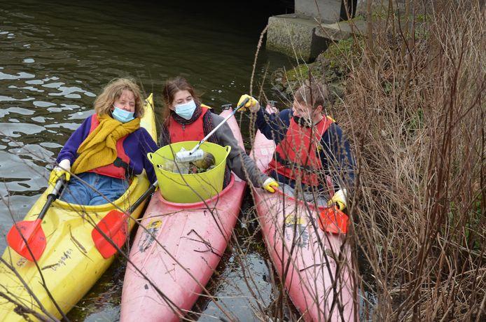 Kayak Cleanup op de Durme