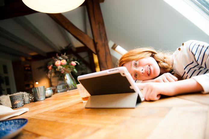 De online bibliotheek biedt zowel digitaal leesvoer als luisterboeken.