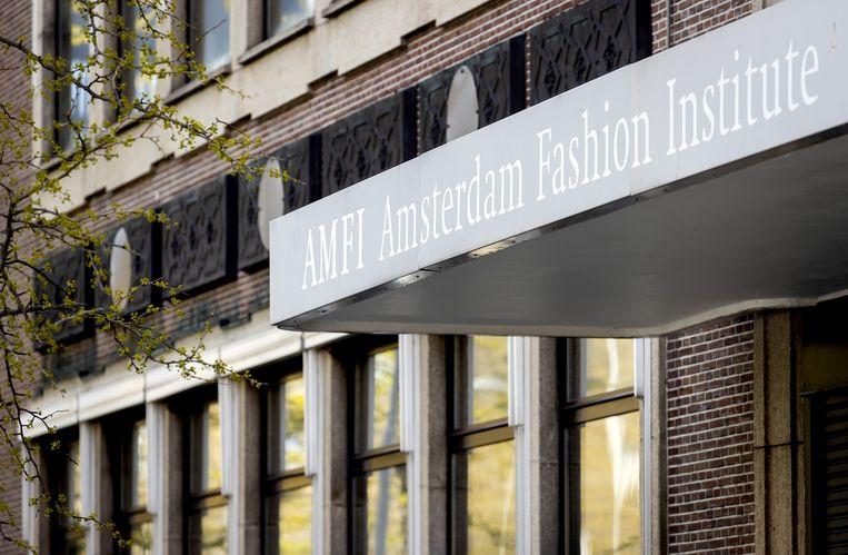 De mode-opleiding Amfi in Amsterdam.  Beeld ANP