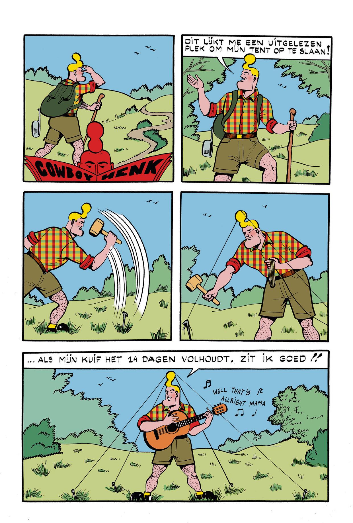 Cowboy Henk 34 Beeld Kamagurka