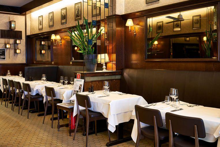 Ciro's in Antwerpen, favoriete restaurant van Oliver Symons. Beeld Hannes Vandenbroucke