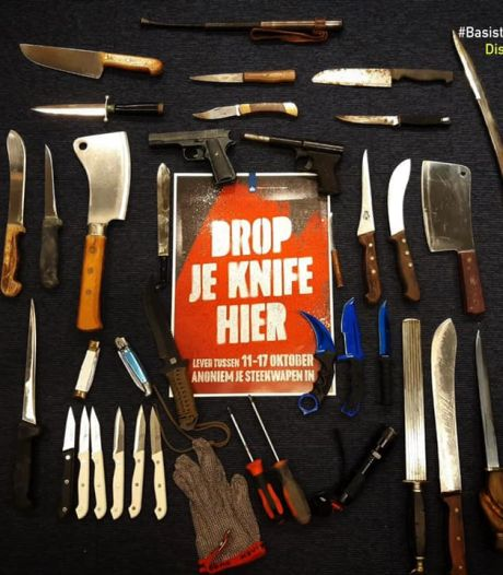 Anonieme wapeninleveractie in regio Rotterdam levert gevarieerde buit op