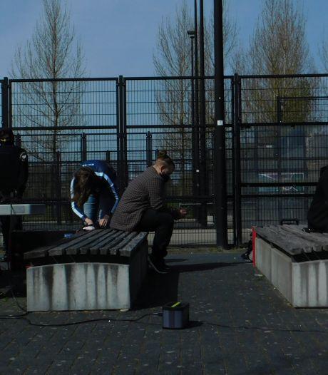 Rotterdammer organiseert gametoernooi in de buitenlucht