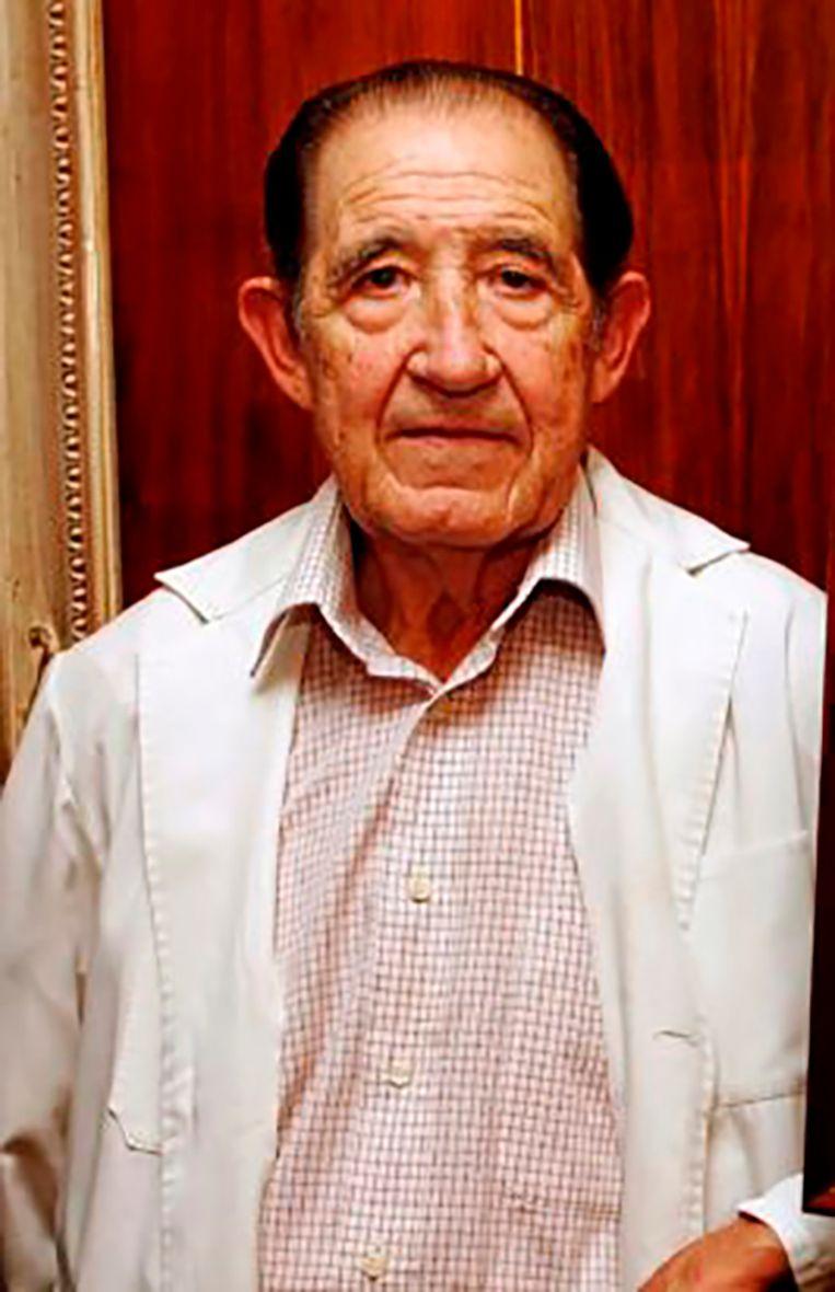 Spaanse ex-dokter Eduardo Vela.
