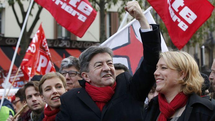 Le Front de Gauche et son président, Jean-Luc Mélenchon, ont dénoncé des chiffres farfelus.