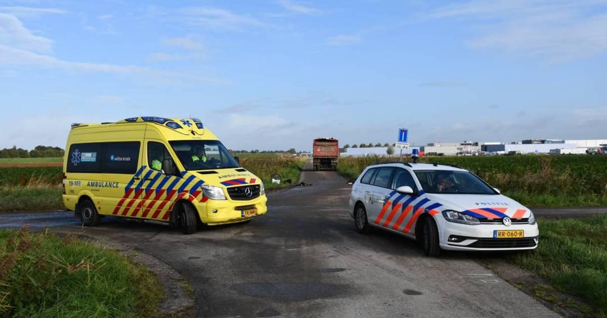 Meisje zwaargewond na aanrijding met vrachtwagen in Yerseke.