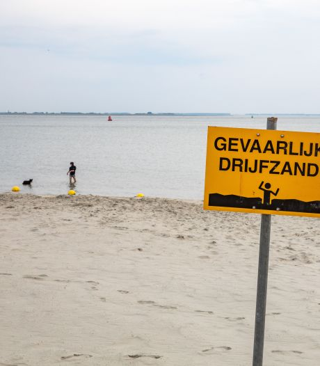 Strandje Hansweert kan er weer tegen aan: 'Het is geen drijfzand hoor, ze kunnen er gewoon op'