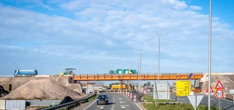 Tijdelijke brug over Doenkade-kruising voor nieuwe A16 Rotterdam